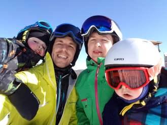 Toute la famille en ski au mont Orford