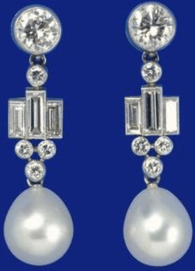 The Queen's Bahrain Pearl Drop Earrings