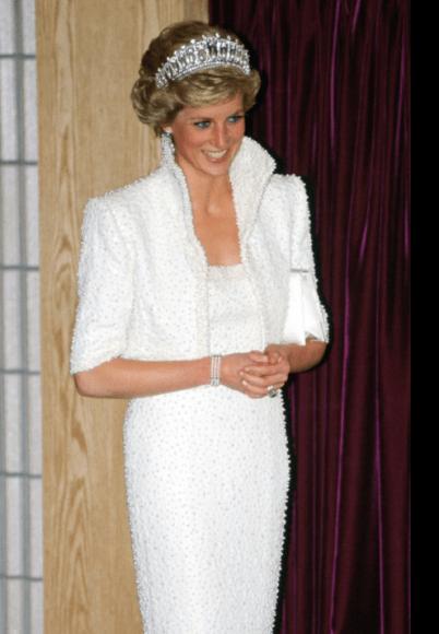 Les perles de Lady Diana