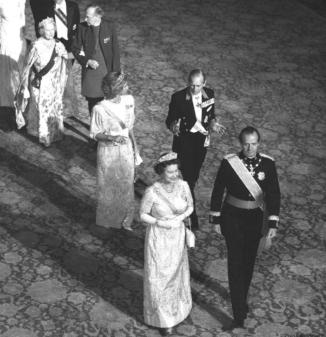 1986 Visite d'Etat du roi Juan Carlos Ier et de la reine Sophia
