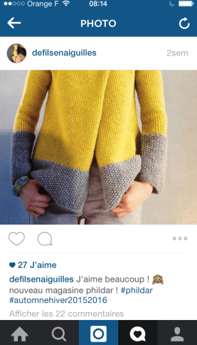 Projet tricot