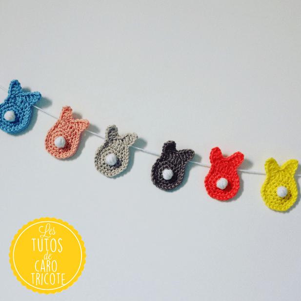 Petit lapin en crochet - Les Folies Douces | 617x617