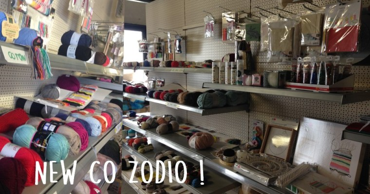 Nouvelle collection mercerie Zodio
