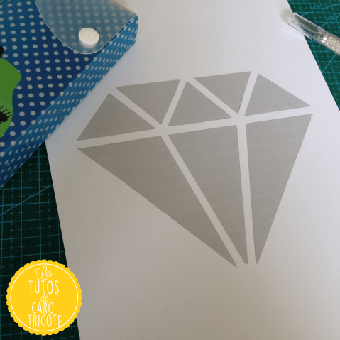 Diamant Kirigami (Tuto)