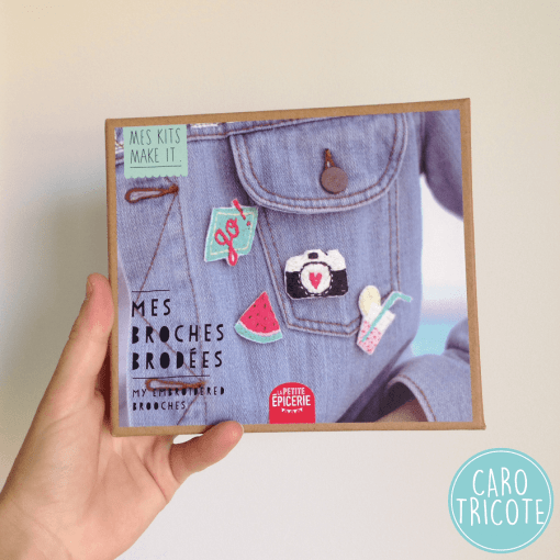 Mes Kits Makes It - Broches brodées