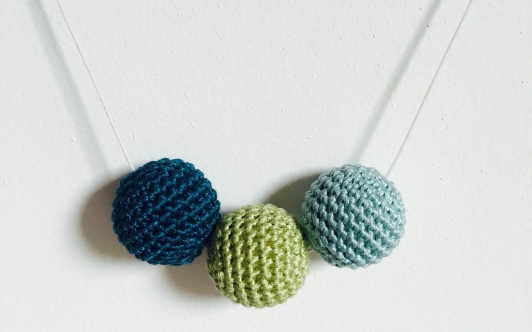 Tuto : des perles en bois au crochet pour le Challenge Créatif de DMC
