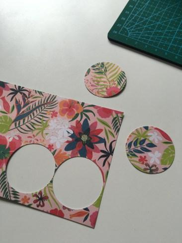 Tuto : Décorer avec une jolie feuille de papier