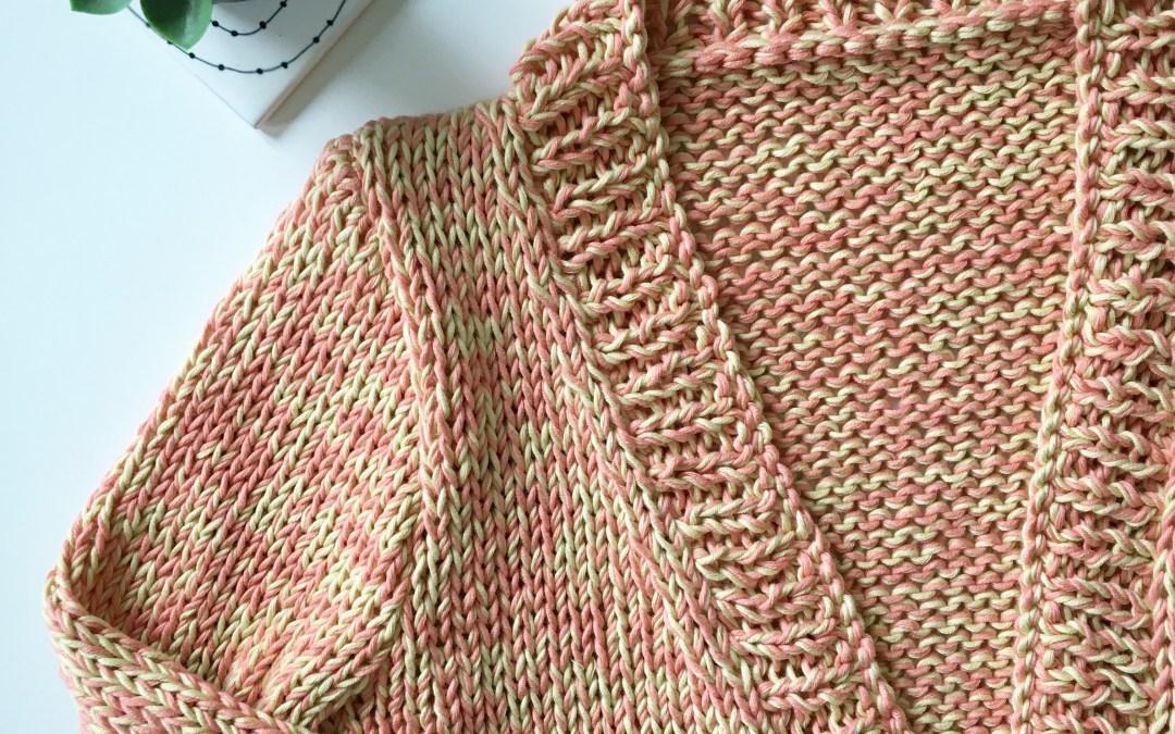 We are Knitters X Caro Tricote – Mon coup de foudre pour le Napa Cardigan [Concours inside]