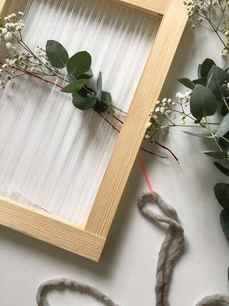 Tissage laine et végétal - Peace and Wool