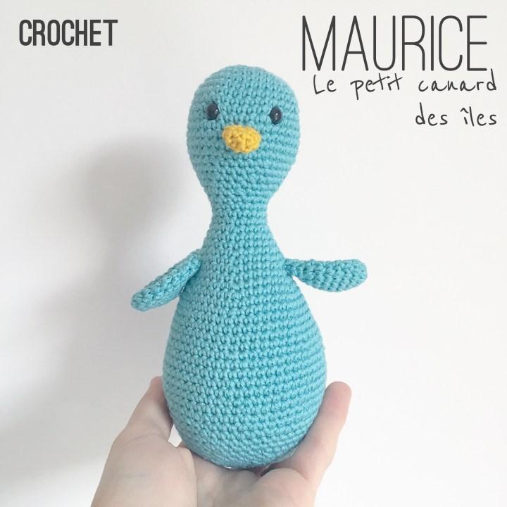 Tuto : Maurice, mon petit canard des îles- Patron au crochet