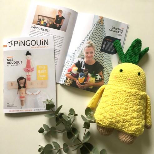 Catalogue Pingouin - Les doudous de Caro Tricote