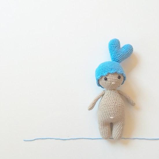 Tuto : Un chapeau en forme de coeur pour Petit Dodu