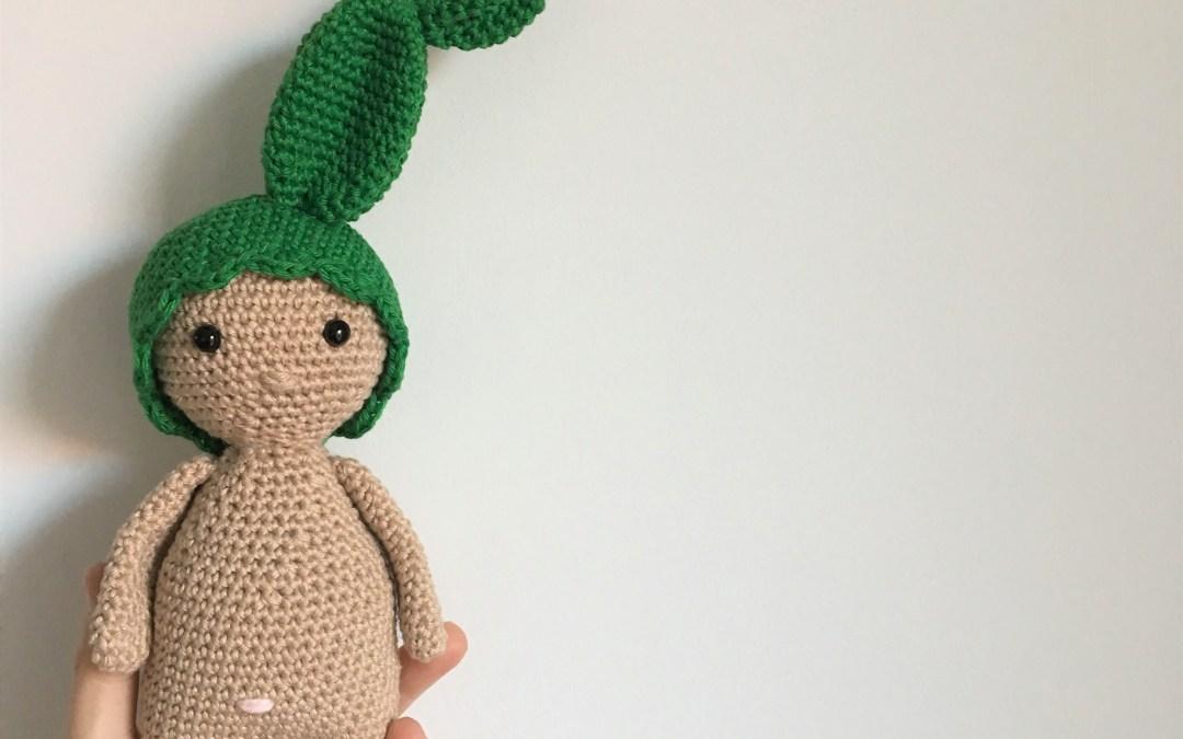 Un nouveau bonnet pour mon Petit Dodu : qui s'y frotte s'y pique ! – Bonnet cactus – Crochet
