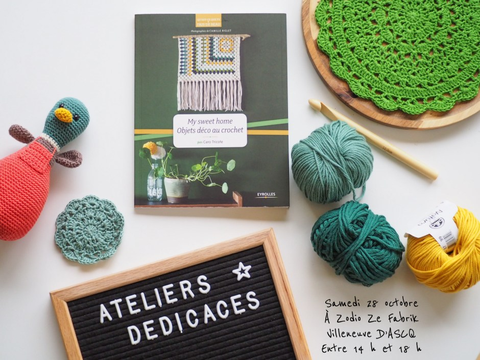 My Sweet Home - Ateliers et dédicaces