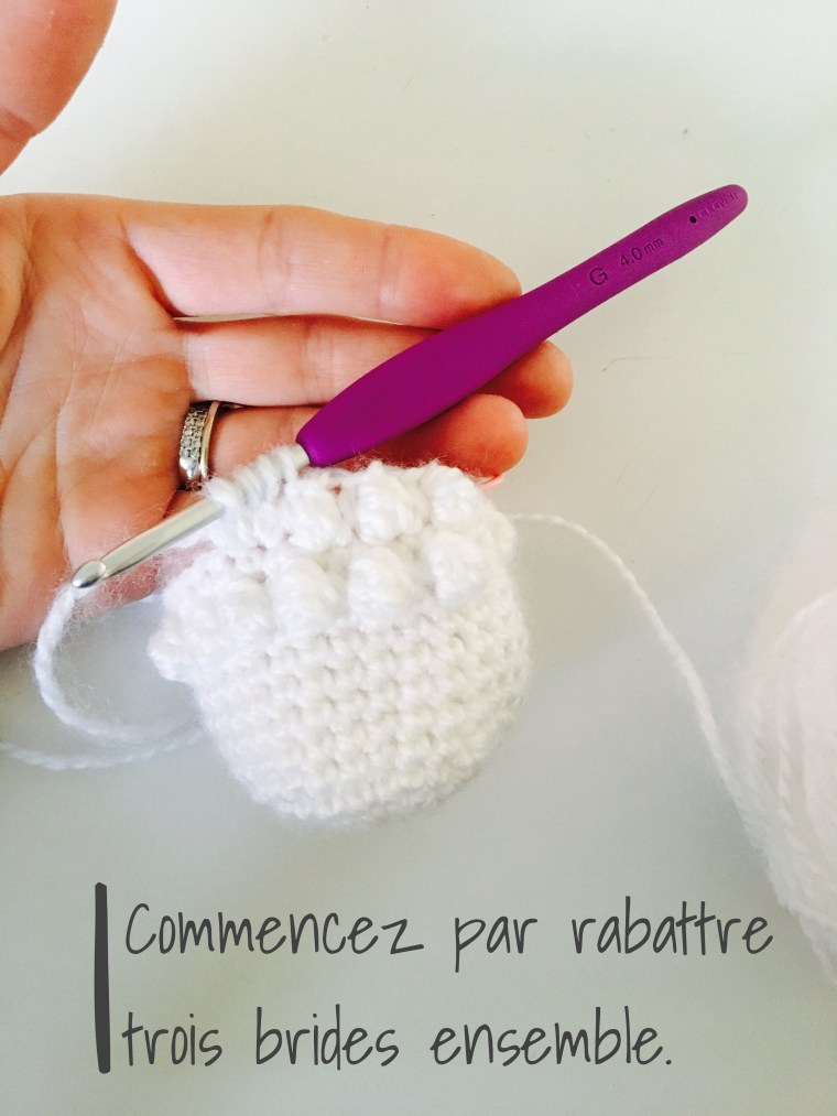 Bougeoirs au crochet