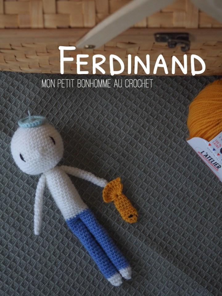 Amigurumi : Ferdinand – Mon nouveau petit pote d'aventures au crochet
