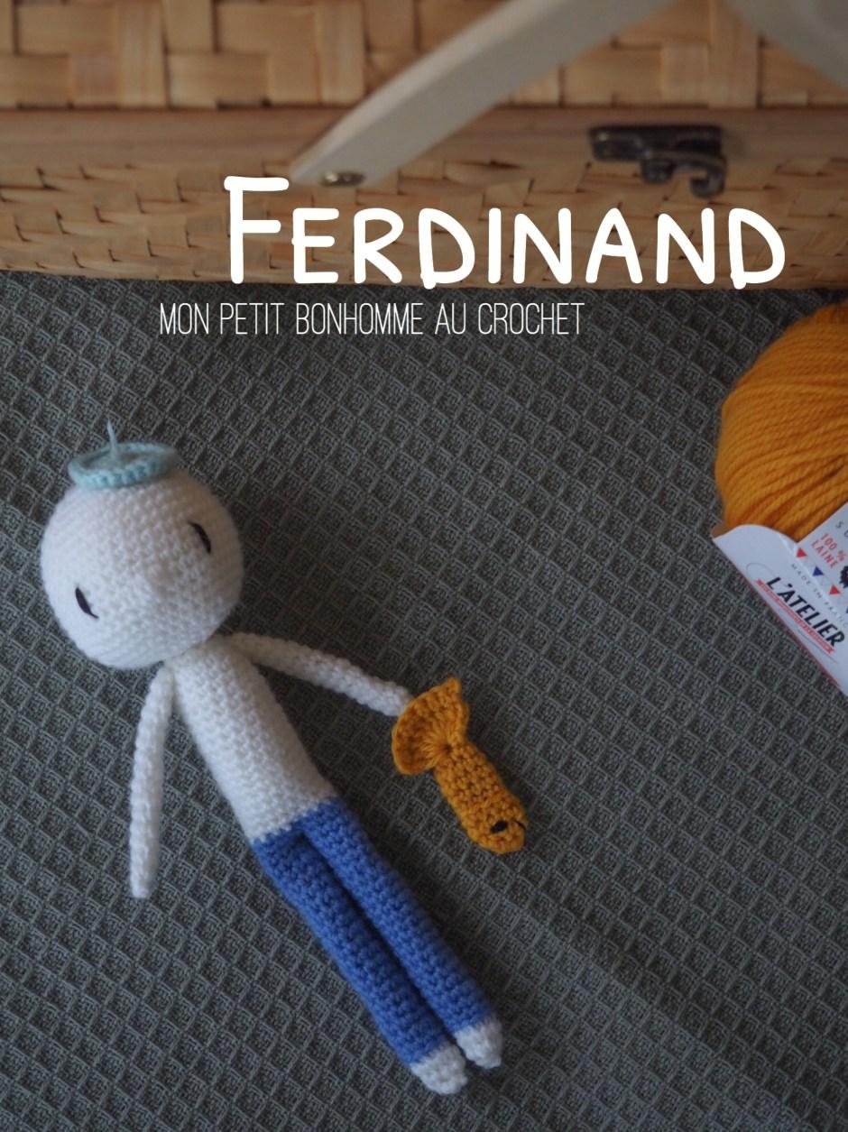 Ferdinand, mon petit bonhomme au crochet