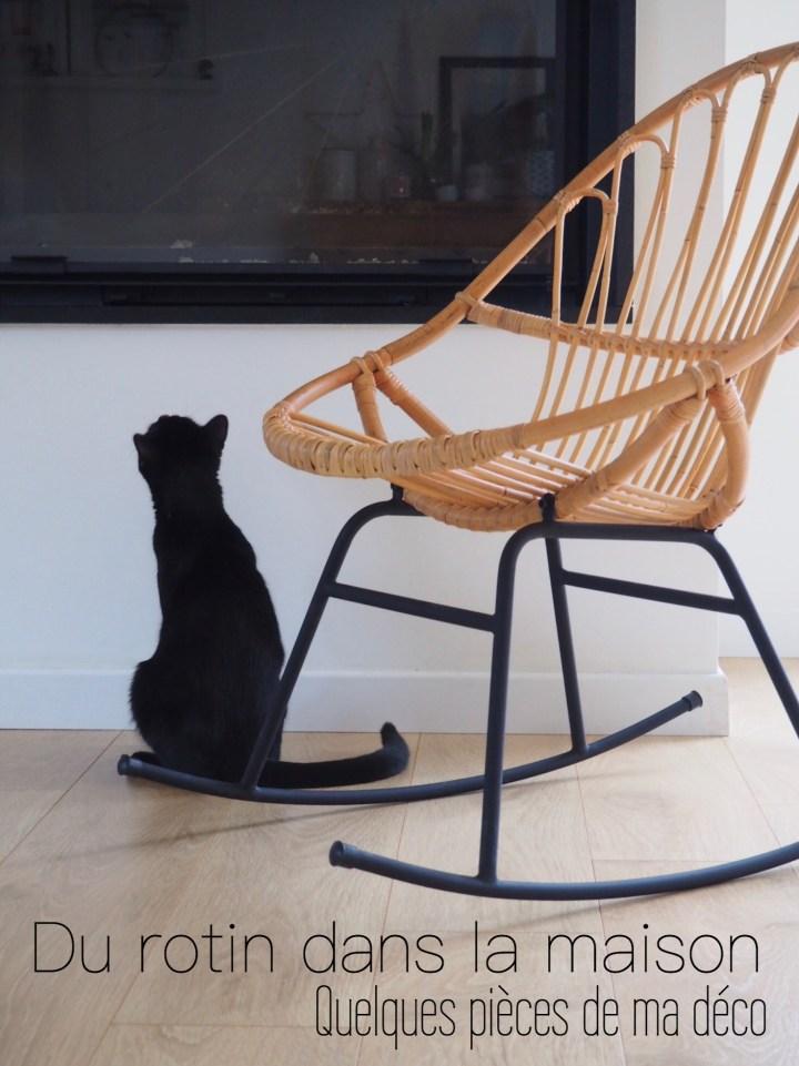 Déco – Du rotin dans la maison