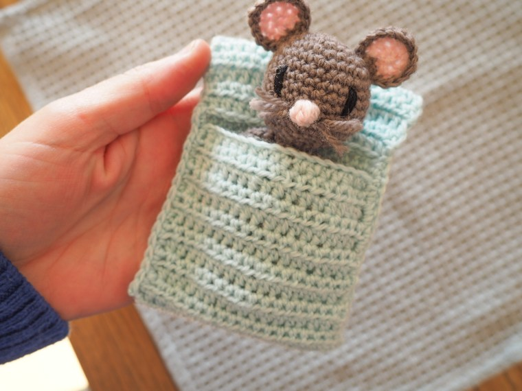 La petite souris - Tuto amigurumi au crochet