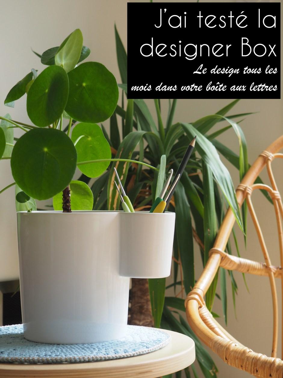 La designer box du mois de mars - Le vase double de Ferréol Babin