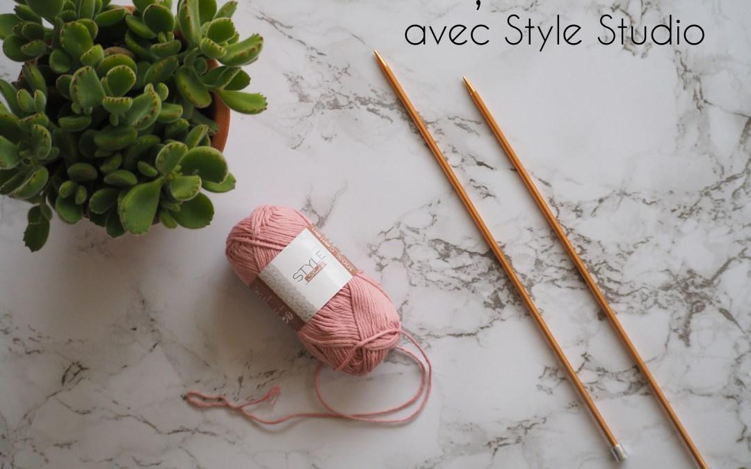 Leçon de tricot n°4 avec Style Studio : Les augmentations et les diminutions