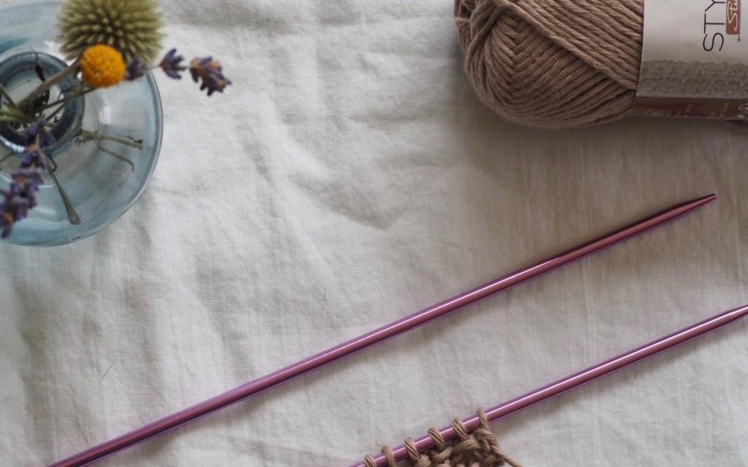 Leçon de tricot n°5 avec Style Studio : Le point de riz