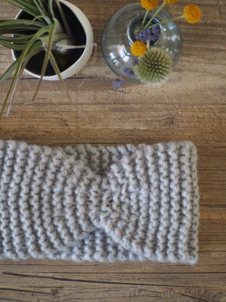 Tuto tricot - un headband rapido