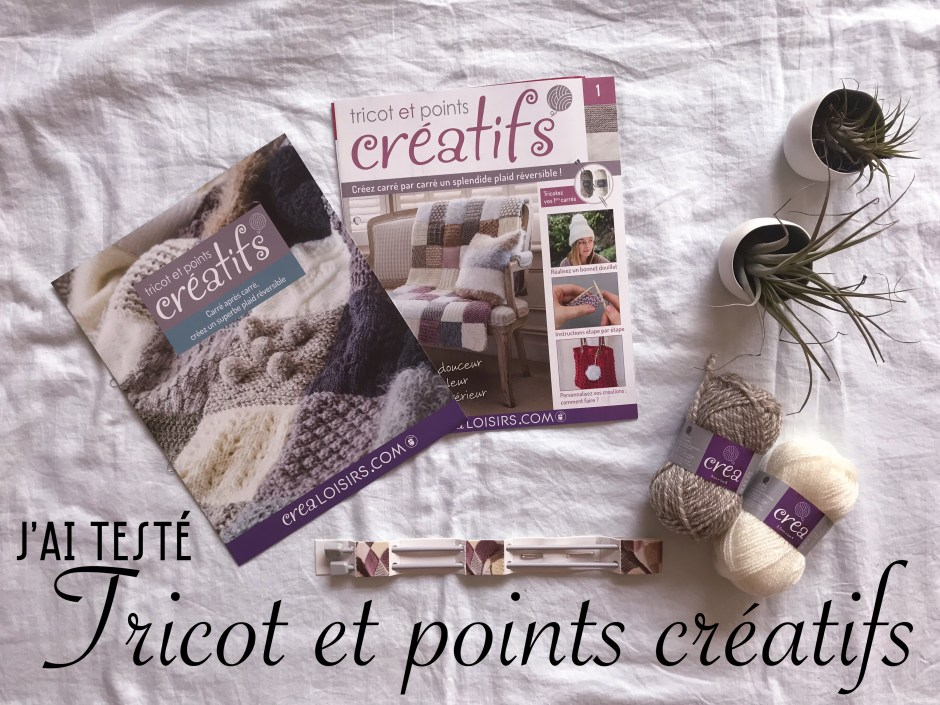Tricot et points créatifs