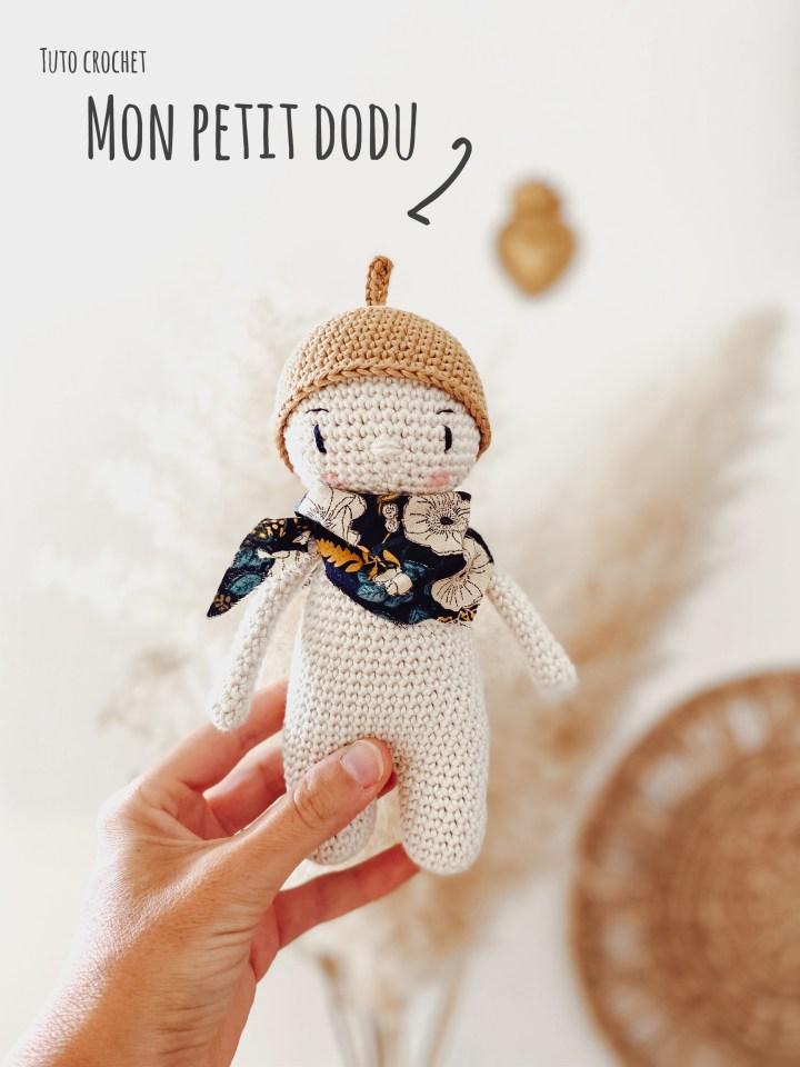 Tuto crochet – Un nouveau petit dodu pour apprendre à crocheter un amigurumi