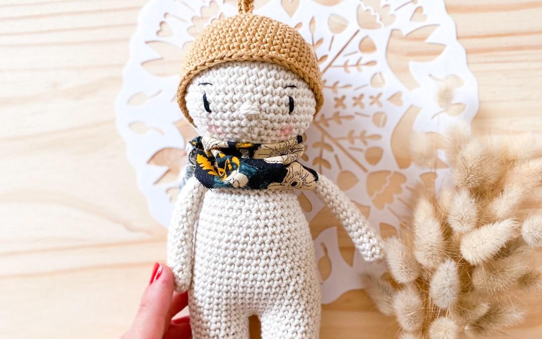 Tuto crochet : Un petit chapeau de gland pour votre Dodu