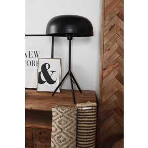 MALTA Lampe de table en acier de style contemporain