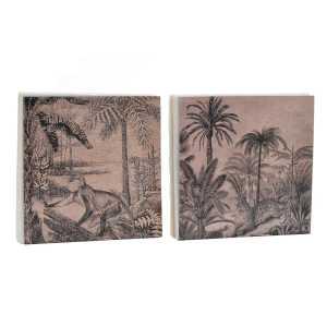 Serviettes set 20 papier 16.5×16.5×0.5 2 capas