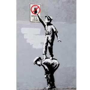 BRANDALISED grafitti is a crime dansmamaison maroc