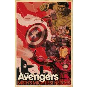 MARVEL THE AVENGERS les héros les plus puissants de la terre