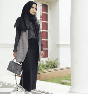 hijab rok pensil