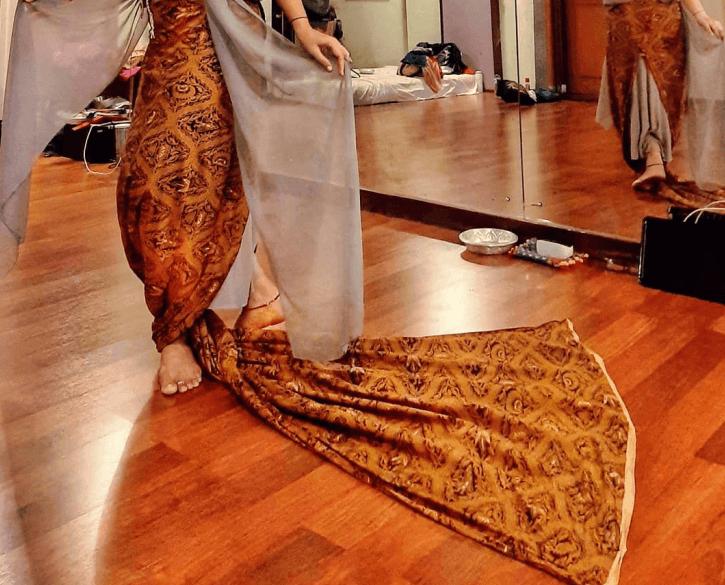 Gambar Batik nusantara sidoluhur berisi ungkapan doa