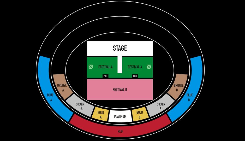 Gambar Harga tiket konser tunggal Raisa
