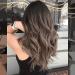 Gambar 1 Warna rambut ombre coklat gelap