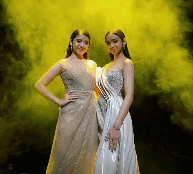 Tiara dan Lyodra Saat Tampil di Indonesian Idol