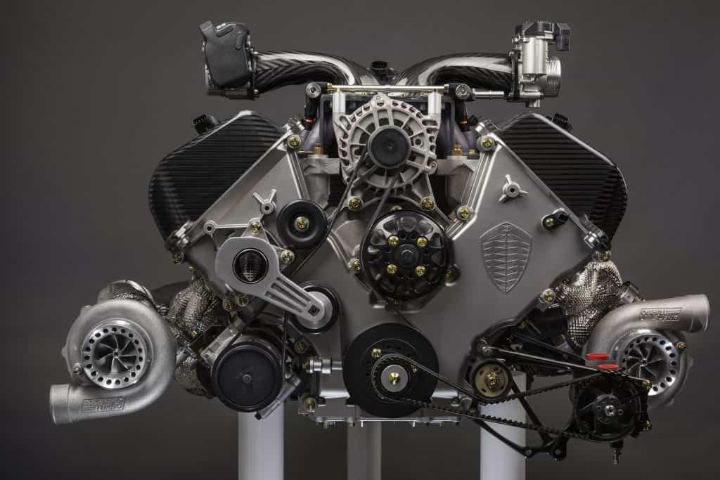 moteur v8 biturbo