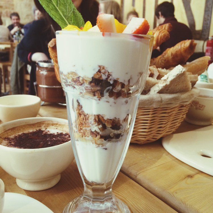Le Pain Quotidien Brunch à Paris Granola Parfait