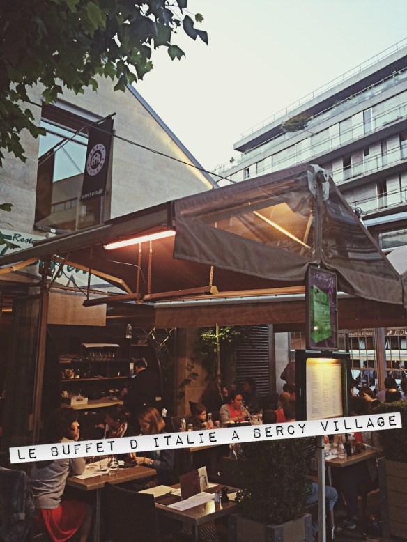 restaurant le buffet d'Italie à Bercy Village Cour Saint Emilion