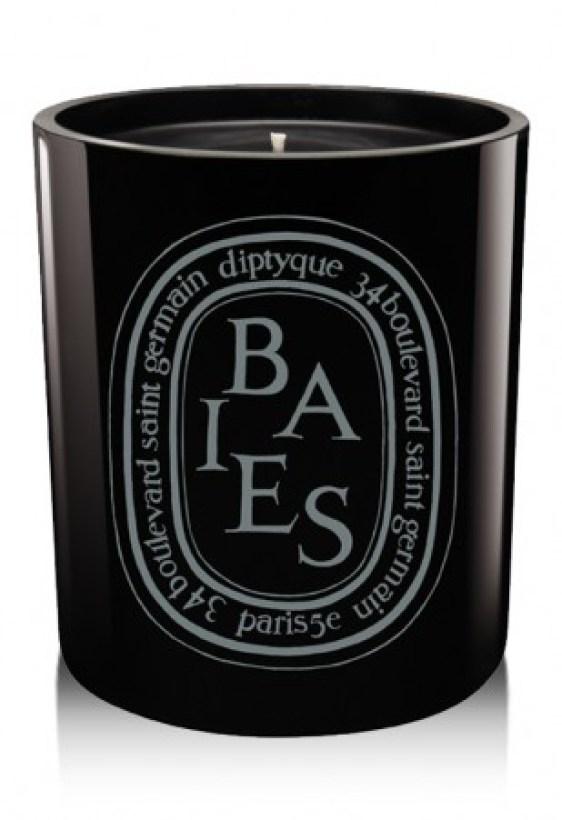 Baies «Noire» bougie Diptyque