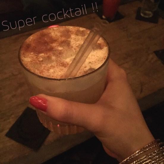 Cocktail surprise me Cal Bar Paris