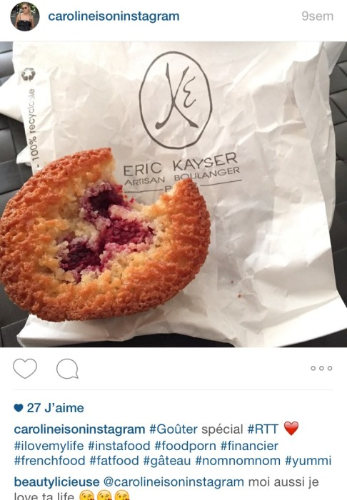 Eric Kayser Financier Instagram