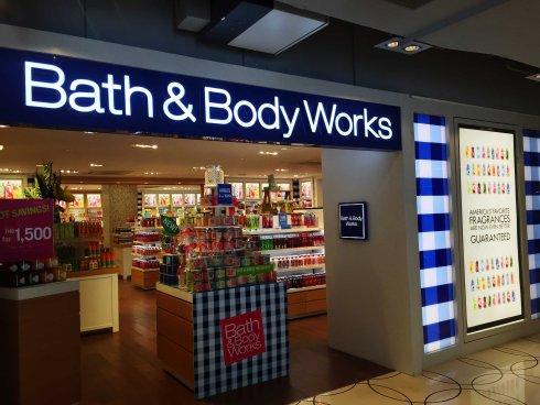 Bath & Body Works shop