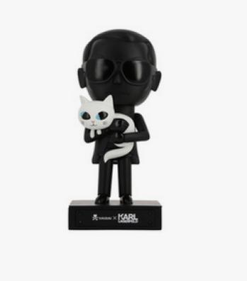 Figurine Tokidiki Karl Lagerfeld et choupette