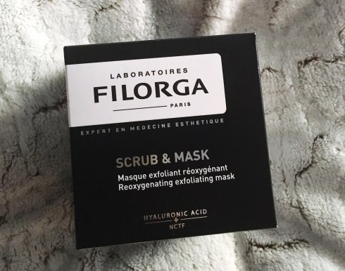"Masque ""Scrub and Mask"" de Filorga avis test"