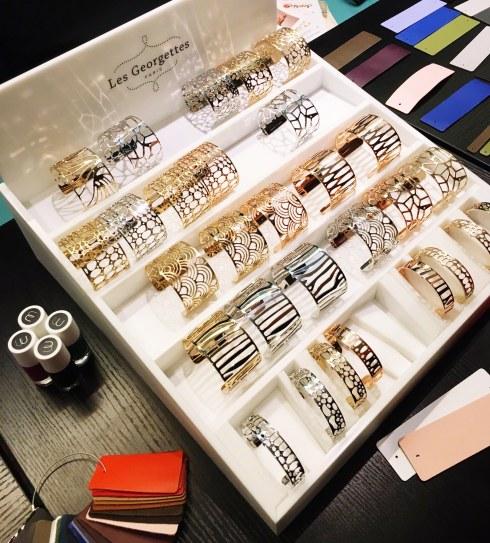 Bracelets manchettes Les Georgettes concept et avis