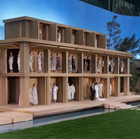 Défilé Chanel Jardin Zen Automne/Hiver 2016 2017